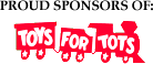 HMI is a proud sponsor of Toys for Tots